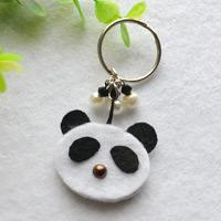 Key Chain Design-How to Make a Panda Key Chain