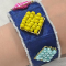 How to Make Recycled Beaded Cuff Bracelet Patterns at Home