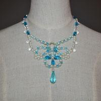 How to Make a Beaded Butterfly Charm Statement Necklace