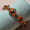 How to Make a Vintage Beaded Bracelet with Bronze Seed Beads