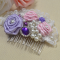 How to Make Cute Flowers Beaded Hair Accessories for Girls