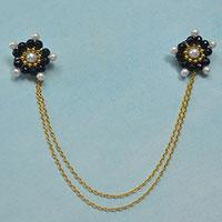 Neckpiece Designs-How to DIY Bead Chain Clothes Accessories at Home