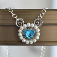 How to Make a Lovely Sheep Head Shaped Pearl Pendant Necklace