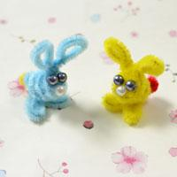 Simple Tutorial on How to Make an Easy Chenille Rabbit Craft