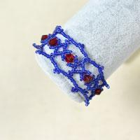 A Detailed Tutorial on How to Make a Seed Bead Woven Bracelet