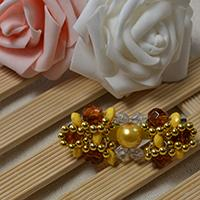 Free Tutorial on How to Make an Elegant Beaded Hair Clip