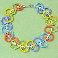 How do You Make a Colorful Statement Necklace with Loop Patterns