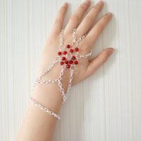 A New Handmade Jewelry Idea - How to Make Bead Chain Bracelets