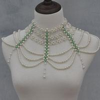 How to Make a Big Statement Beaded Necklace to Match Your Dress