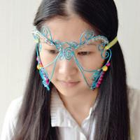 Pretty Halloween Costumes for Girls – How do You Make a Wire Masquerade Mask