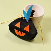 Simple Halloween Crafts on How to Make a Black Ghost Craft Bag