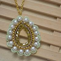 Pandahall Jewelry - How to Make a Beaded Drop Necklace with Pendant