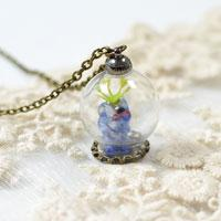 Pandahall Easy Craft Idea – Making Lampwork Bead Pendent Chain Necklace Designs