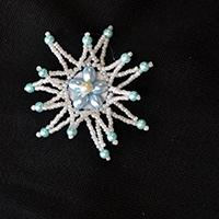 Pandahall Jewelry - How to DIY a Beaded Star Brooch at Home
