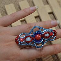What Can I Make with Seed Beads - Stylish Seed Bead Ring Tutorial