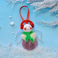 Easy Christmas Hanging Decor - How to Make a Christmas Angel Ornament for Kids