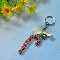 Fun Things to Make for Christmas Gifts –How to Make Personalized Keychains with Umbrella Hook Design
