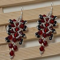 Bead Jewelry Making Video on How to Make Beaded Drop Earrings