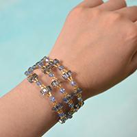 A Detailed Tutorial on How to Make a Beaded Bangle Bracelet