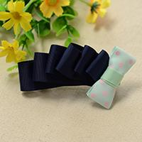 How to Make an Easy Ribbon Bow Hair Clip with Wave Pattern