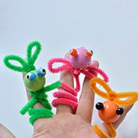 Family DIY Project - How to Make Easy Chenille Sticks Crafts with Kids at Home