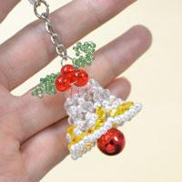 Pandahall Tutorial on How to Make Beaded Stitch Christmas Bell Crafts for Gifts