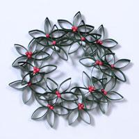 Pandahall's Free Tutorial on How to Make a Double Paper Quilling Christmas Garland