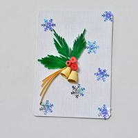 Pandahall Tutorial on How to Make a Quilling Paper Christmas Card