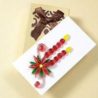 how to make new year paper quilling greeting cards pandahallcom