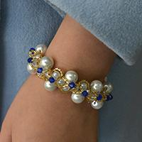 Pandahall's Tutorial on How to Make a Girls' White Pearl Beaded Bracelet