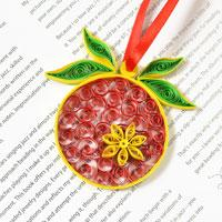 Quilling Paper Craft Tutorial – How to make Christmas Hanging Ornament