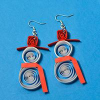 Christmas Earrings DIY - How Do You Make a Pair of Handmade Santa Claus Earrings