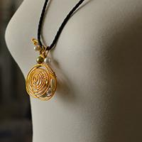 Pandahall Free Tutorial on How to Make a Wire Wrapped Shell Pendant Necklace
