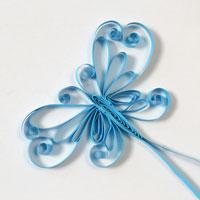 Pandahall's Free Tutorial on How to Make a Handmade Quilling Paper Butterfly Card
