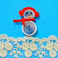 Christmas DIY Ideas - How to Make Paper Quilling Snowman Crafts for Kid
