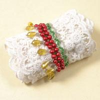 Pandahall Tutorial - How to Make DIY Beaded Christmas Bracelet