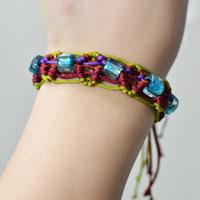 Pandahall Tutorial on How to Make Braid Friendship Bracelet
