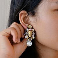 Pandahall's Free Tutorial on Making a Pair of Vintage Beaded Drop Earrings