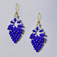 How to Make 2-Hole Seed Beads Leaves Earrings for Girls