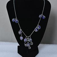 How to Make Simple Agate Beads Chain Necklace for Women