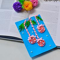 Pandahall Tutorial on How to Make Simple Quilling Ball Ornaments Cards