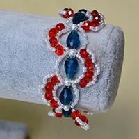 Pandahall Tutorial on How to Make Easy Glass Beads Bracelets for Girls