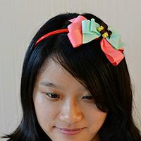 How to Make Satin Ribbon Bow Headbands for Little Girls
