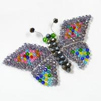 Detailed Instructions on How to Make a Handmade Glass Beaded Butterfly Craft