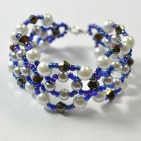 How to Make 4-Strand Pearl and Seed Beads Bracelets for Girls