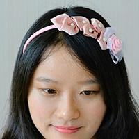 Pandahall Tutorial - How to Create Your Own Pink Ribbon Headband at Home