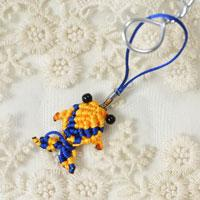 Pandahall Tutorial on How to Make a Yellow Thread Woven Fish Hanging Ornaments