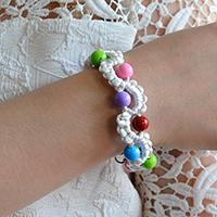 Video Tutorial on How to Make an Easy Nylon Thread Braided Friendship Bracelet