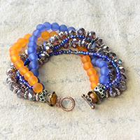 How to Make a Multiple Stranded Ethnic Beaded Bracelet for Summer