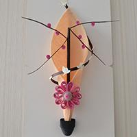 Home Decor Idea--How to Make Easy Quilling Wintersweet Wall Decor